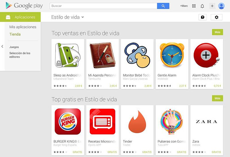 3rd position on Google Play – Lifestyle